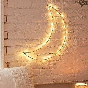 Urban outfitters crescent moon light
